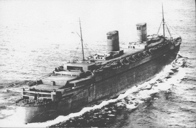 QUEEN ELIZABETH 1940