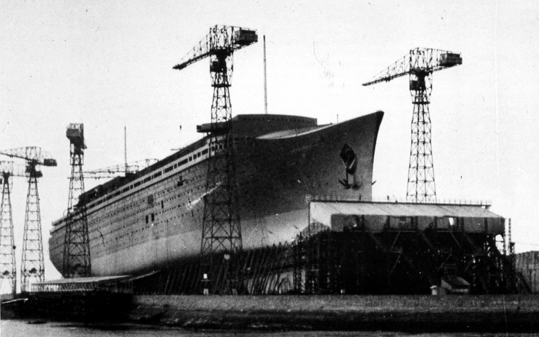 ss NORMANDIE & ss FRANCE :