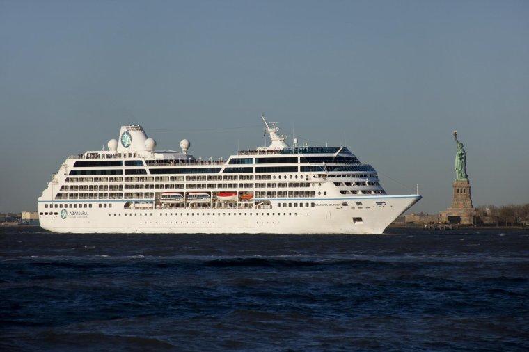 Le paquebot AZAMARA JOURNEY est en escale à Nantes 22 23 & 24 août 2014   (1)