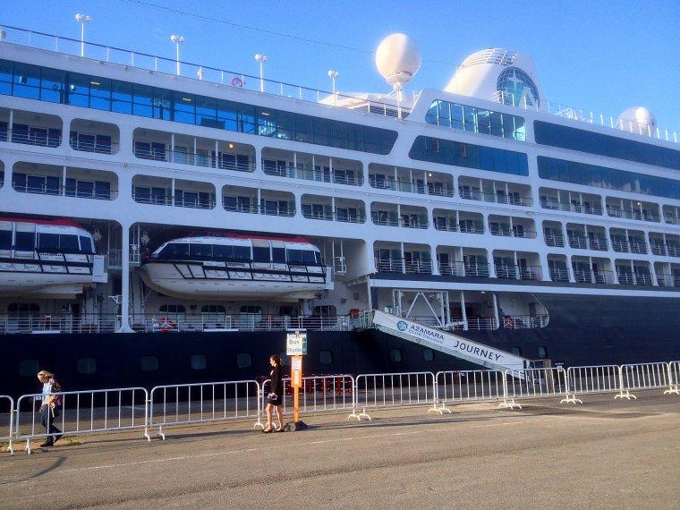 Le paquebot AZAMARA JOURNEY est en escale à Nantes 22 23 & 24 août 2014 (2)