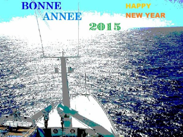 BONNE ANNEE -  2015 -    HAPPY NEW YEAR