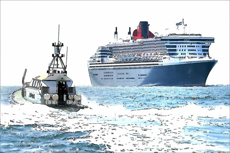 QUEEN MARY 2 - THE FASTEST TRANSSATLANTIC LINER OF THE 21TH CENTURY