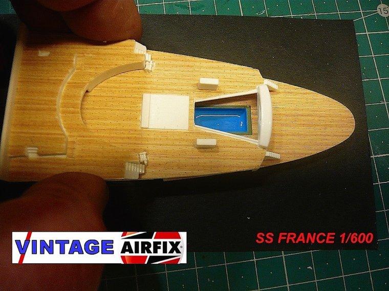 S/S FRANCE maquette AIRFIX 1/600°