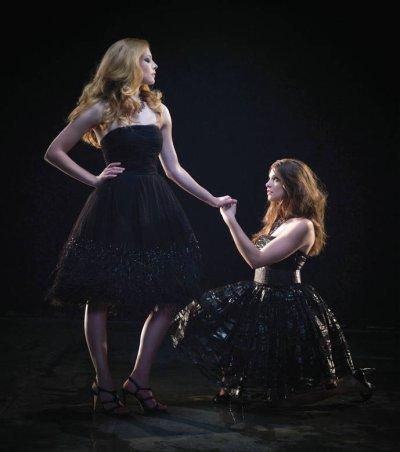 ♥ Ashley Green et Rachelle Lefevre ♥