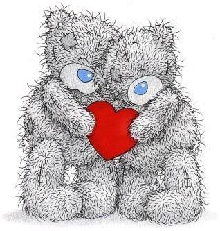 2 ours amoureux qui tiens un coeur - Blog de tout-pour-mon-amour-0411