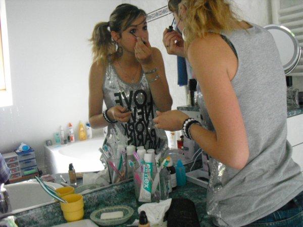 La vie est tracée sur le miroir ne le brise pas...