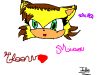 Eloow The cat by Julie
