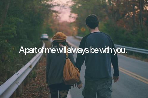 Je voulais que tu saches que tu es l'une des personnes à laquelle j'ai le plus tenu dans ma vie.  (t.)