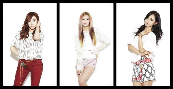 Présentation des Girls' Generation.