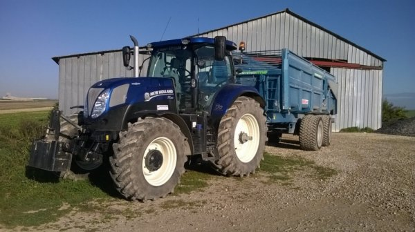 new holland t7.210 blue power de pret