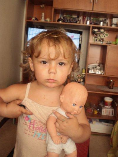 ma fille et son bebe