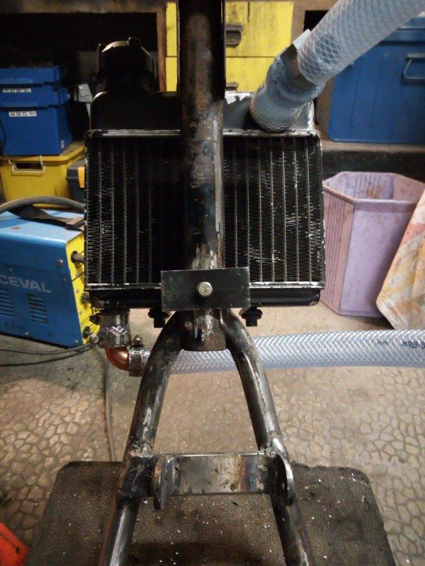Installation du radiateur