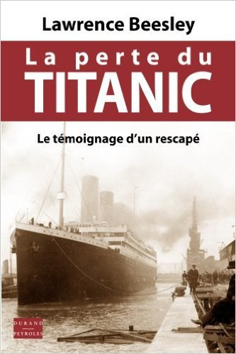 la perte du titanic