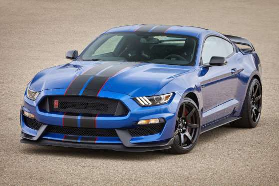 Ford Mustang Shelby GT500 : le V8 5,2 litre compressé