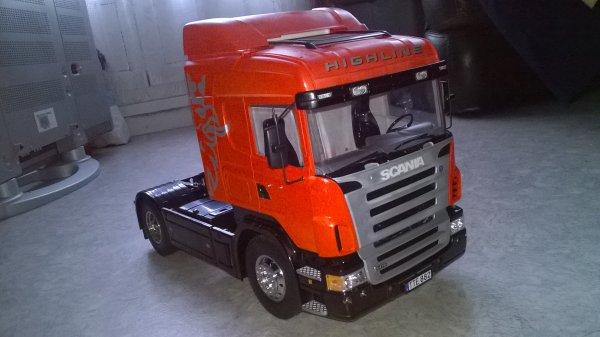 Mon tamiya Scania R470