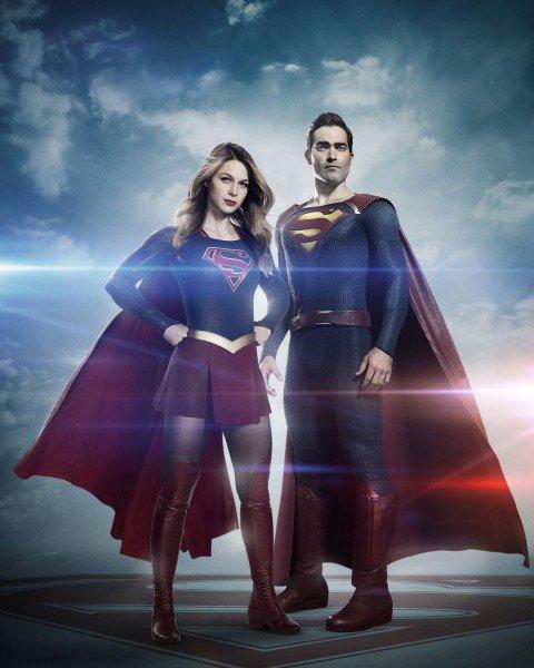 """""""Supergirl"""" saison 2 : Superman apparaît sur une première photo"""