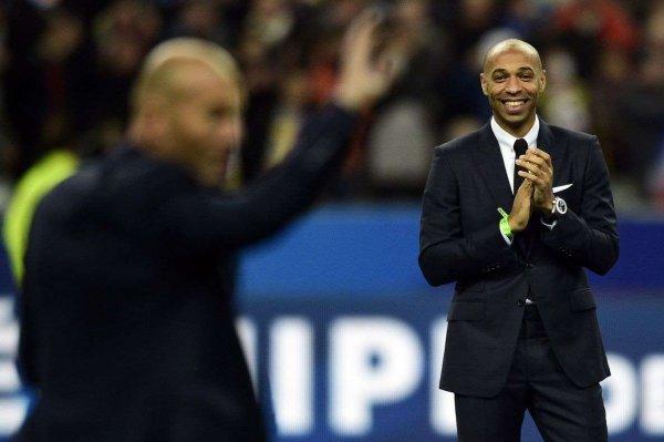 Football : Thierry Henry entraîneur adjoint de l'équipe de Belgique