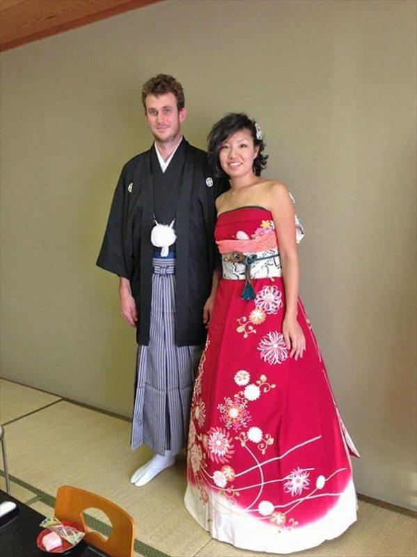 Des robes de mariées inspirées des traditionnels kimonos japonais, tout simplement sublimes !