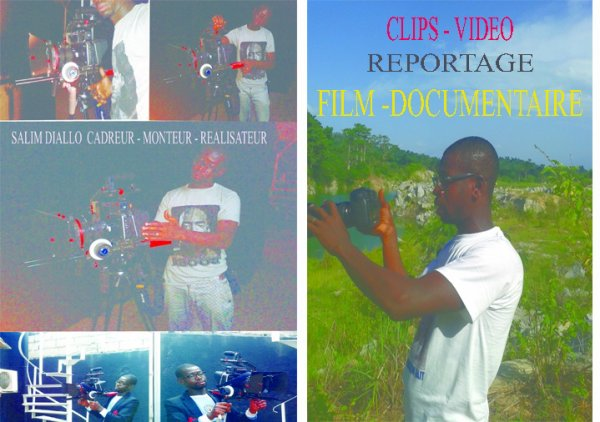 MONTEUR DE CLIPS - VIDEO - FILMS - DOCUMENTAIRE SALIM DIALLO