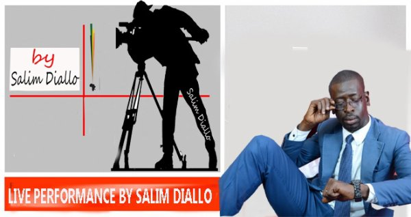 LIVE PERFORMANCE  BY SALIM DIALLO