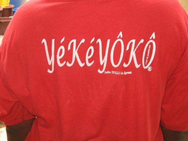 Le mot d'espoir  est yéké-yôkô qui signifie la positivité ou rien.Donc soyons positif(ve)