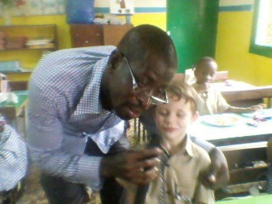 Salim Diallo l'animateur qui s'adapte à tout   et assure graaaaave(positivement parlant)