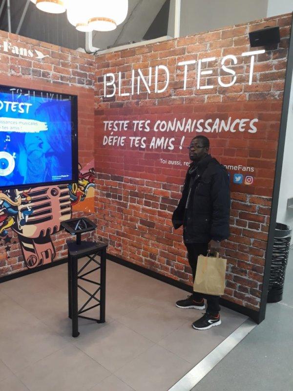 Salim Diallo au Blind Test