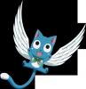 Happy les chat ( ou dragon) de Natsu