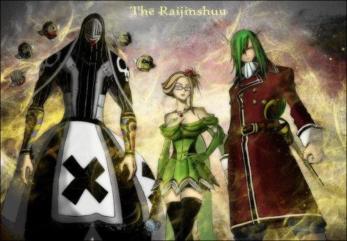 la bande de Raijin: