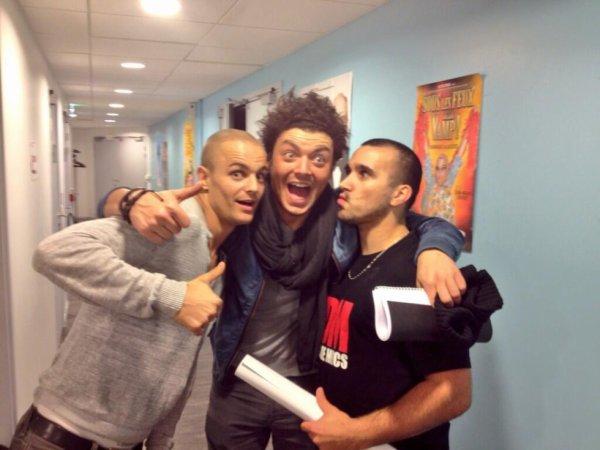 Ben et Luis avec Kev adams