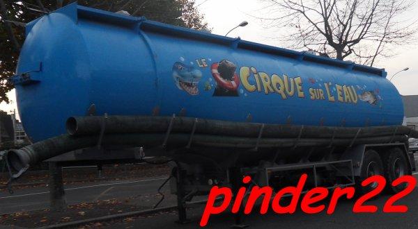 cirque sur leau