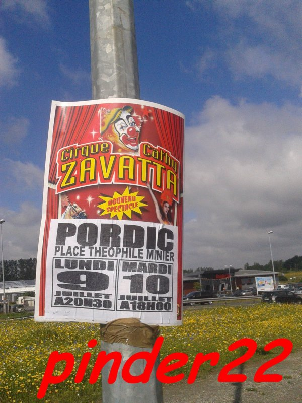 Reportage sur le cirque Cathy zavatta a Pordic