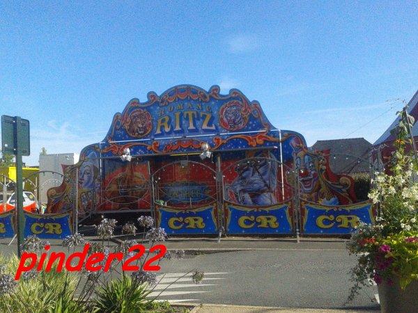 nouveau reportage sur le cirque Romane Ritz et Lucas Fratellini