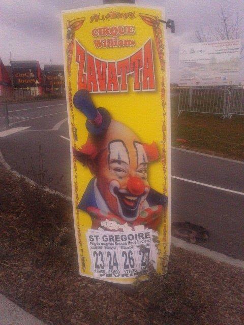 reportage sur le cirque william  Zavatta