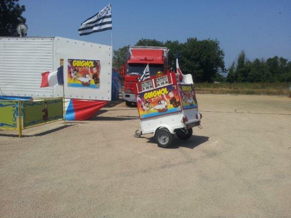 Surprise en allant voir le cirque Bostok