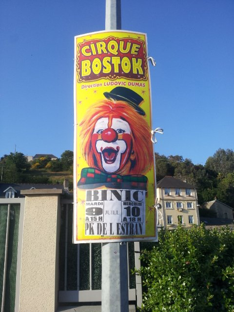 le cirque Bostok