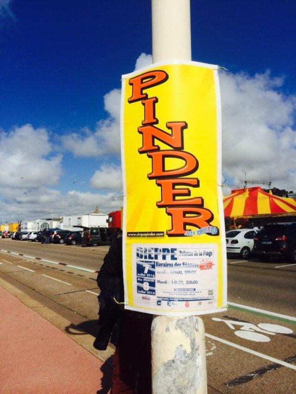 Nouveau reportage sur le cirque PINDER