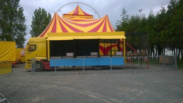 le cirque Mathieu Hart