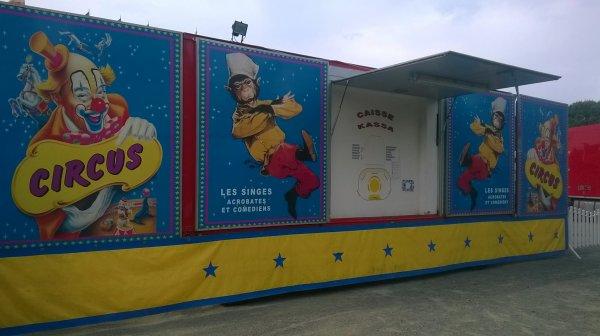 nouveau reportage sur le cirque BOSTOK