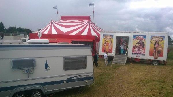 nouveau reportage sur le cirque Gervais