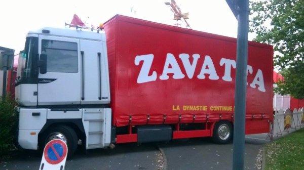 nouveau reportage sur le cirque ALFREDO ZAVATTA