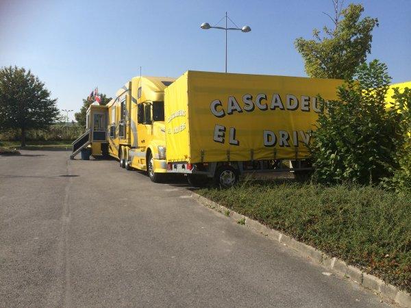 """nouveau reportage sur les cascadeur """"el driver""""!"""