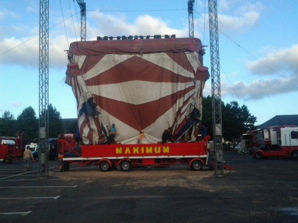 Nouveau reportage sur le cirque maximum