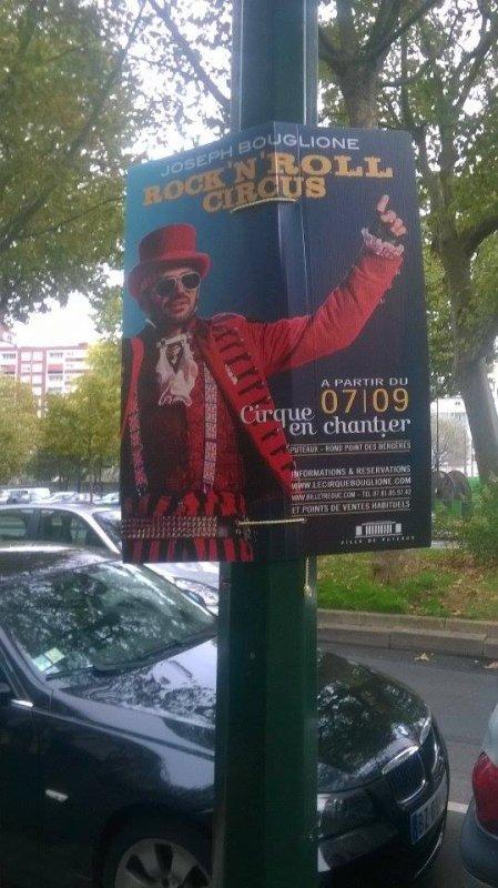 nouveau reportage sur le cirque Joseph Bouglionne à Puteau (92)