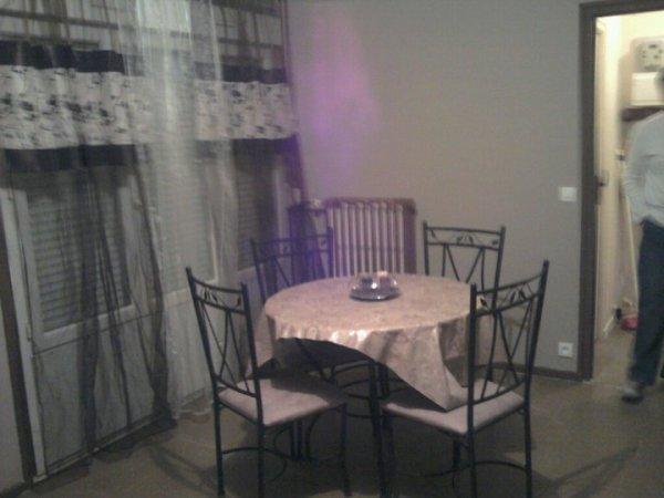 mon salon refait en peinture