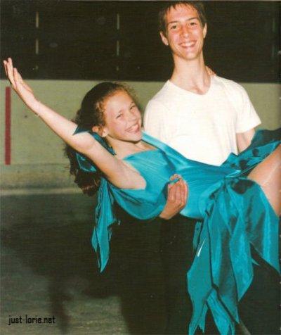 son enfance/sa famille/le patinage