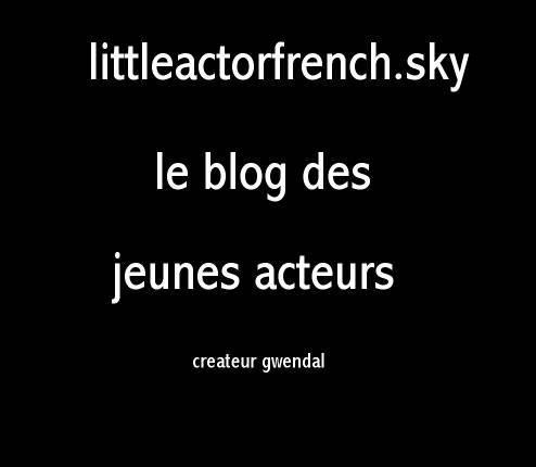 Blog de littleactorfrench