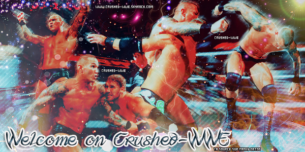 Welcome On Crushed-WWE