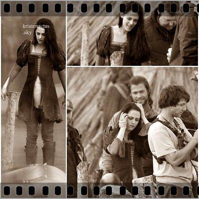 Le tournage de Snow White