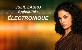 Barbara Cabrita, alias Julie Labro ( R.I.S Police Scientifique)